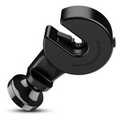 FLOVEME 2 in 1 Rotate Phone Holder Car Headrest Hanger Hook