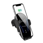 Montagem sem fio do telefone do carro da indução automática do carregador do carro