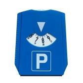 KKMOON M & H-24 Европейские парковочные дисковые счетчики со скребком для льда, пластик, синий