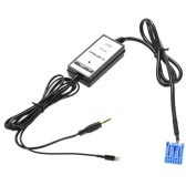 3.5mm Aux Audio MP3 Interface Adapter for Honda Accura Accord Civic USB charging for iPhone5s 6 6s 6plus