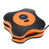 12V DC Компрессорный насос, Цифровой шинный инфлятор Автоотключение со светодиодной подсветкой для автомобилей, велосипедов и шаров