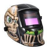 Casco de soldadura solar Máscara de soldador de oscurecimiento automático con casco de soldadura ajustable Equipo de protección de soldadura segura