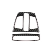 Carbon Fiber Car Reading Light Frame Cover Trim Interior Decoration Accessories for BMW F30 F31 F32 F33 F34 (2012-2020)