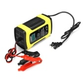 12V Pulse LCD 6A Lead Acid Cell Intelligent Charging Device for Car Motorcycle