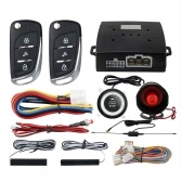 PKE Car Anti-theft Alarm Keyless Entry System Push Button Remote Start