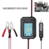Автомобильная память Data Saver Автомобильный кабель аварийного источника питания Тестер батареи Разъем для сохранения памяти Automotive Memory Keeper , 2 зажима типа «крокодил»