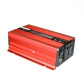 Convertitore di tensione 500W 1000W 12V 240V Inverter USB Power Inverter con 1 presa e display LCD