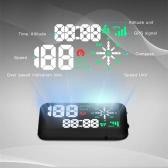 Uniwersalny Samochód GPS HUD Wyświetlacz Head Up KM / h & MPH Speeding Warning System Projektu Wiosny