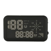 Universal GPS Car HUD Head Up Display KM/h & MPH Speeding Warning Windshield Project System