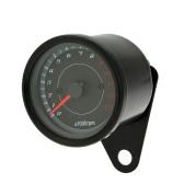 12V moto 1300 RPM tacômetro kmh velocímetro odômetro duplo calibre com luzes de sinal do diodo emissor de luz