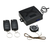 Car Alarm System PKE Passive Keyless Entry Central Locking Push Button Remote Engine Start