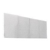 Решетка для решетки автомобиля 1000 * 330мм Универсальный алюминиевый кузовной бампер Rhombic Mesh Grill