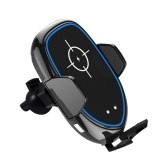 Беспроводное зарядное устройство Автомобильное инфракрасное зондирование Автоматическая выдвижная клипса Быстрая зарядка Совместимость с iPhone Xs Max / XR / X / 8 / 8Plus