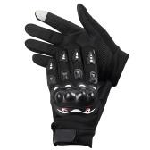 Мужские мотоциклетные перчатки С сенсорным экраном Велосипедные перчатки на весь палец Теплые перчатки для мотоциклов MTB Велоспорт Мотокросс Горные виды спорта на открытом воздухе , M-XL