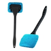 New Microfiber Auto Window Cleaner Windshield Fast Easy Shine Brush Handy Washable Cleaning Tool