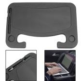 Mesa para volante, portátil, tableta, mesa de viaje para coche, bandeja para comer, se adapta a la mayoría de los vehículos, volantes