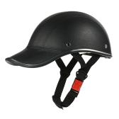 Casco de motocicleta Half Face Gorra de béisbol estilo con visera