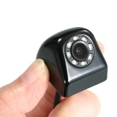 Waterproof Car Rear View Camera with 8 LED Night Vision Parking Assistance
