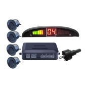 LED con el control de la distancia del estacionamiento del monitor del radar del estacionamiento de 4 sensores