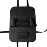 Pu Leather Car Seat Voltar Organizador Car Backseat Storage Box