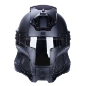 Iron Knight Casco de la Edad Media Cascos de la vendimia al aire libre Tan