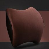 Suporte de assento macio Assento de cabeça Memória Espuma Cabeça Almofada Suporte para pescoço Confortável Auto Acessórios Almofada de ergonomia