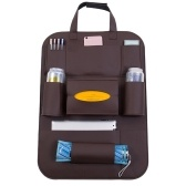 Pu Leather Car Seat Voltar Organizador Car Backseat Storage Box