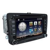 "Universal Car 7 ""1080P HD DVD Player Bluetooth Navegação GPS"