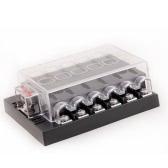 12 forma DC32V circuito coche barco Auto automotriz cuchilla fusible caja bloque titular ATC ATO