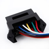 6 Way DC32V Circuit Car Trailer Auto Blade Fuse Box Block Holder ATC ATO 2-input 6-ouput Wire
