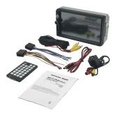 Segunda mano 7 pulgadas Universal 2 Din HD BT USB / TF FM Entrada auxiliar Radio para coche Reproductor MP5 Radio multimedia Entretenimiento con cámara de visión trasera HD
