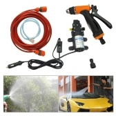 Second Hand 12V Car Wash Washing Machine Cleaning Electric Pump Pressure Washer Device Tool