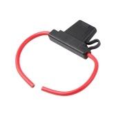 Support de fusible automobile boîtier support en ligne ATC / ATN / ATM porte-fusible à lame faisceau de câbles adapté à l'électronique Fl