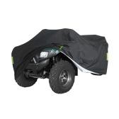 Универсальный сверхмощный чехол ATV для квадроциклов 190T Водонепроницаемая защита от дождя и пыли с защитой от УФ-лучей Ripstop Beach Outdoor Protector с ночной светоотражающей полосой