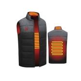 Colete aquecido USB elétrico Colete aquecido de inverno Jaqueta para aquecimento de motocicleta, esqui, caminhada, acampamento