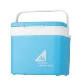 Портативный автомобильный холодильник объемом 10 л, ведро для льда, мини-холодильник и теплый холодильник для пикника, для ухода за кожей, банки для снеков, для дома и путешествий