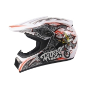 Off Road Casco Motocicleta y Moto Dirt Bike Motocross Racing Helmet