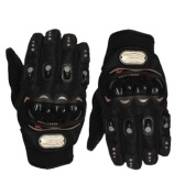 Motorcycle Riding Gloves Leather Anti-fall Cross-country Glove Racing Safety Gloves Screen Touching Design