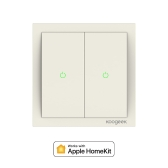 Koogeek Two Gang Wi-Fi Enabled Smart Light Switch