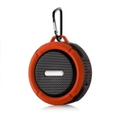 Outdoor Waterproof BT Speaker, Wireless Portable Speaker with Enhanced 3D Stereo Bass Sound