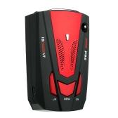 Véhicule de voiture Détecteur de radar Détecteur de vitesse V7 Vitesse Alerte vocale Dispositif d'alerte Rouge Russie / anglais