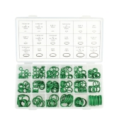270PCS O-Type Repair Box Rubber Washer Assortment Set NBR O-Shape Seal Ring For Car Air Conditioning Compressor