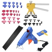 49pcs Auto Car Body Paintless Dent Puller Dent Lifter Repairing Removal Hail Glue Machine Tools Kit