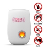 Multi-Function Ultrasonic Pest Repeller Domestic Outdoor Farm Mouse Cockroach Pest Driving Device