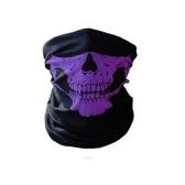 Unseamed Multifunctional Headband Skull Bandana Capacete Máscara facial de pescoço Lenço térmico Halloween Props
