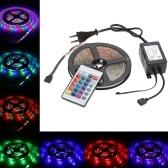 Multicolor Controle Remoto RGB 5 M 300 LEDs SMD Cor Flexível LED Luz de Tira