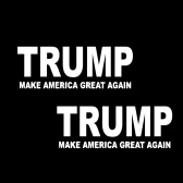 Bumper Sticker Decal Car Body Sticker Trump 2020 Decals - Make America Great Again for President 2020 Decal United States Presidential Election, 2pcs
