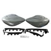 Крышка объектива фары Пластиковая крышка объектива фары Крышка фары Замена для Corvette C6 2005-2013