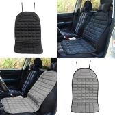 12V Heated Car Seat Cushion Cover Winter Household Seat Heater Warmer