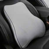 Coussin lombaire de mousse de mémoire de mousse de coussin de soutien de voiture de soutien d'oreiller arrière d'oreillettes de soutien d'automobile